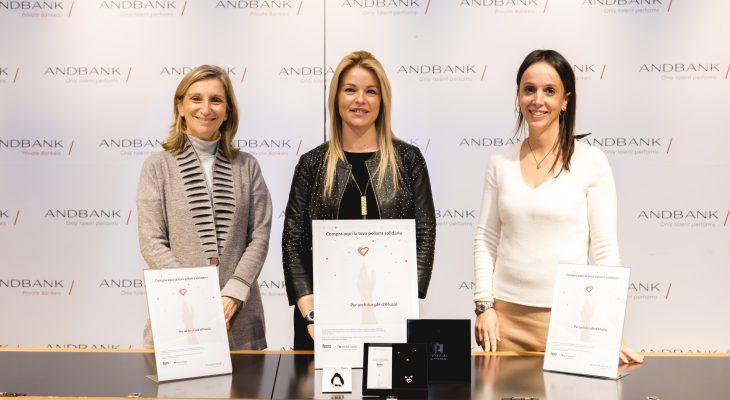 Andbank et Nerea Aixàs créent un bracelet solidaire pour soutenir la lutte contre le cancer