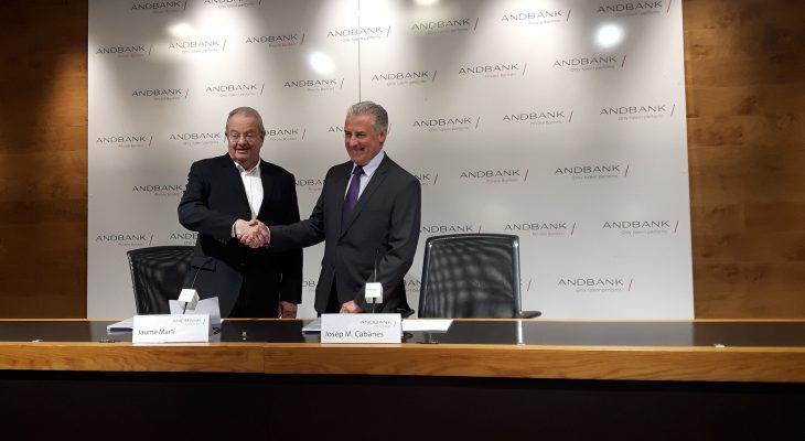 Andbank y COA renuevan el convenio de colaboración hasta el 2021