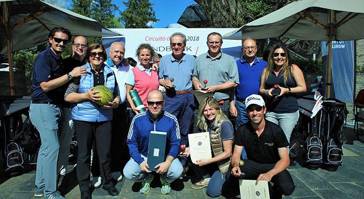 El Torneig de Golf Andbank comença amb èxit de participació a Cerdanya