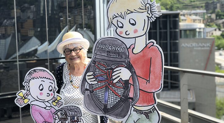 Andbank llença el Compte Amic, un nou producte amb els personatges creats per la reconeguda il·lustradora Pilarín Bayés
