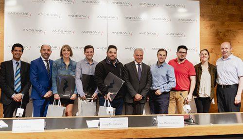 Lliurament dels premis Taller Emprenedors 2018 a Andbank