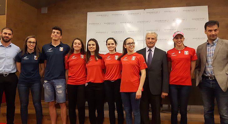 Lliurament de premis Copa d'Andorra de natació i natació sincronitzada a la seu d'Andbank