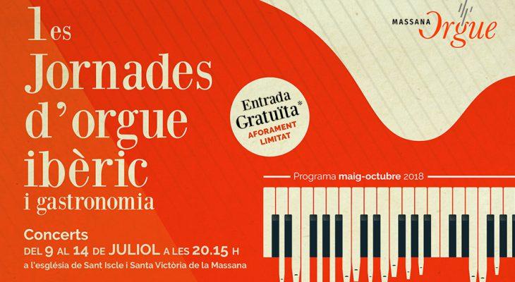 Comencen les 1es Jornades d'orgue ibèric i gastronomia