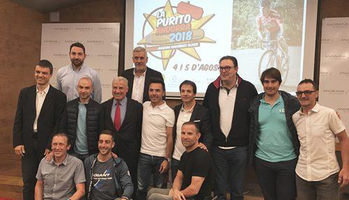 Presentació de La Purito Andorra 2018 Andbank