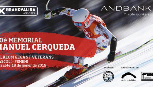 30è Memorial Manuel Cerqueda d'esquí per a veterans