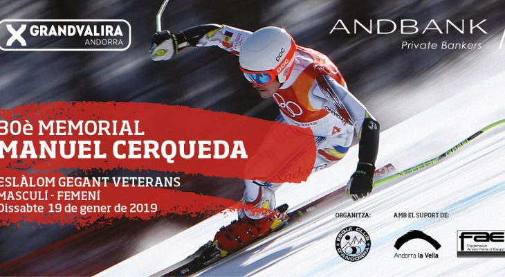 30º Memorial Manuel Cerqueda de esquí para veteranos