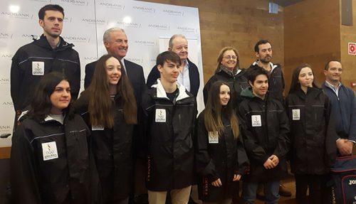 Andbank i COA presenten la delegació andorrana que anirà al Festival Olímpic de la Joventut Europea