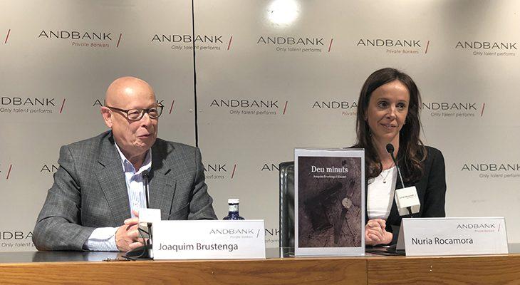 Andbank presenta el llibre Deu Minuts, guanyador del premi de novel·la curta 2018