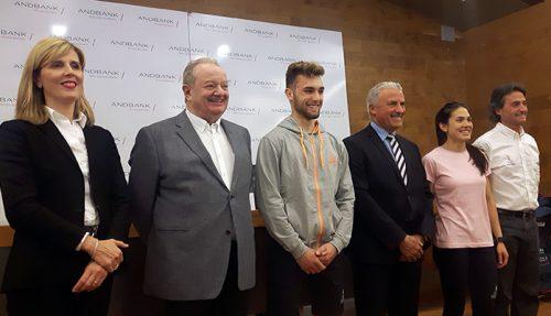 Andbank i COA presenten la delegació que assistirà als Jocs dels Petits Estats de Montenegro