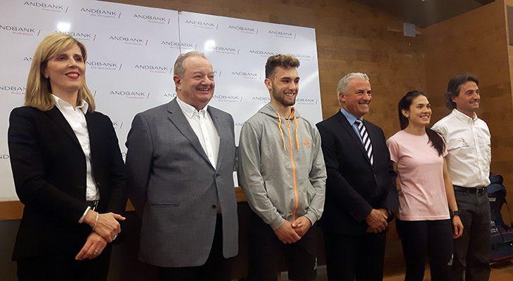 Andbank y COA presentan la delegación que asistirá a los Juegos de los Pequeños Estados de Montenegro