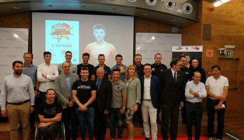 "La Purito Andorra commémore à Andbank la 5ème édition de la course cyclotouriste de Joaquim ""Purito"" Rodríguez"