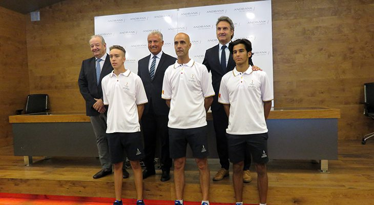 Andbank dóna suport a la delegació andorrana als Mediterranean Beach Games