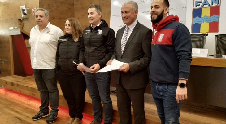 Andbank and the Andorran Swimming Federation renew their collaboration for two more years