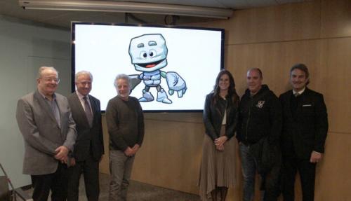 La propuesta de Moles Disseny, elegida como la mascota oficial de la XIX edición de los Juegos de los Pequeños Estados de Europa