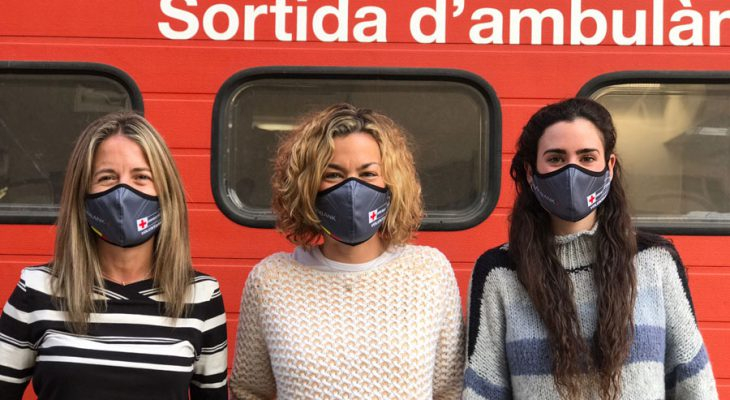 Andbank equips the more than 500 volunteers of the Andorran Red Cross with face masks