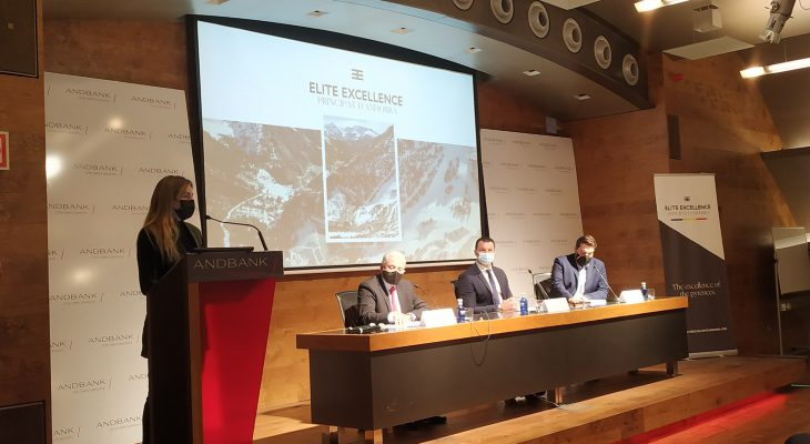 Presentation of Elite Excellence Andorra in collaboration with the Government of Andorra and Andbank
