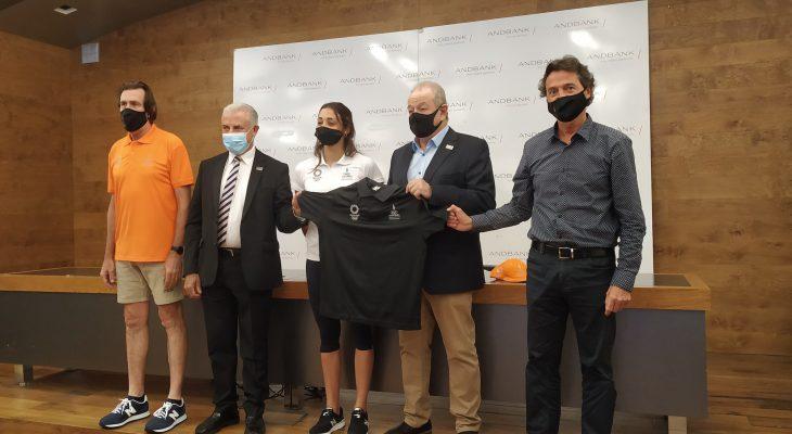 Andbank i COA presenten l'equipament que la delegació andorrana portarà als Jocs Olímpics de Tokio 2021