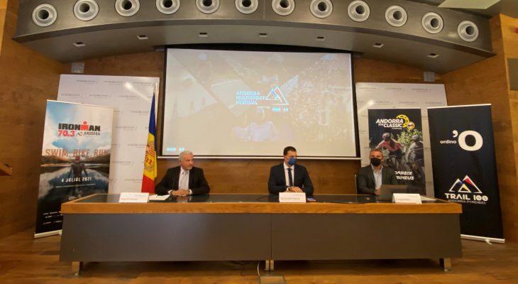 Acord de patrocini entre Andbank i IRONMAN