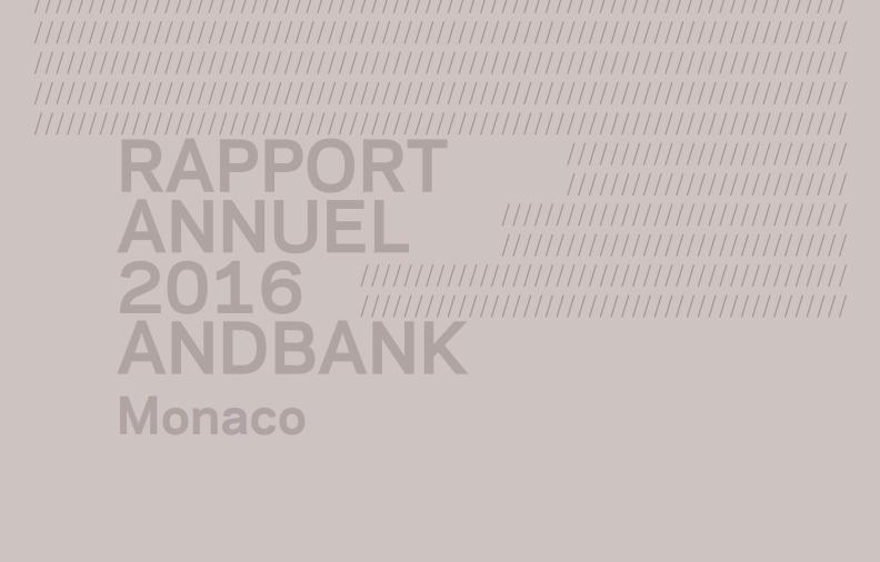 Rapport annuel Monaco 2016