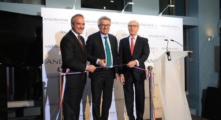 Andbank opens a new office in Luxembourg