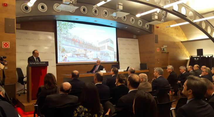 Andbank and Hospital Sant Joan de Deu present the new Pediatric Cancer Center Barcelona